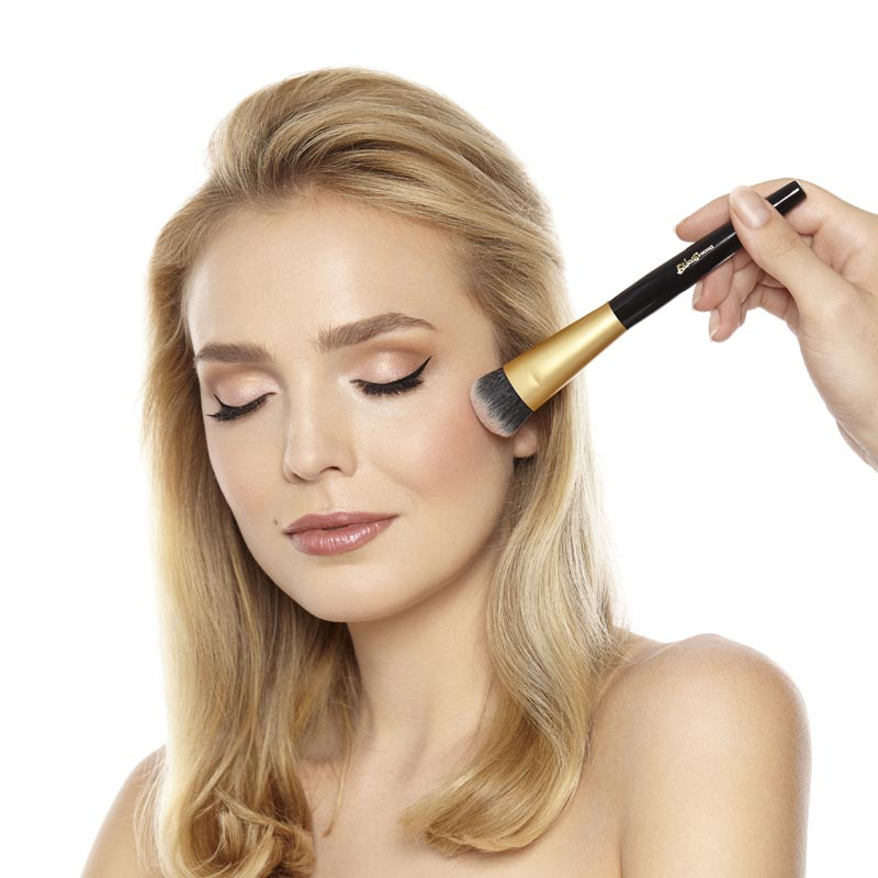 Brush Shown with Model