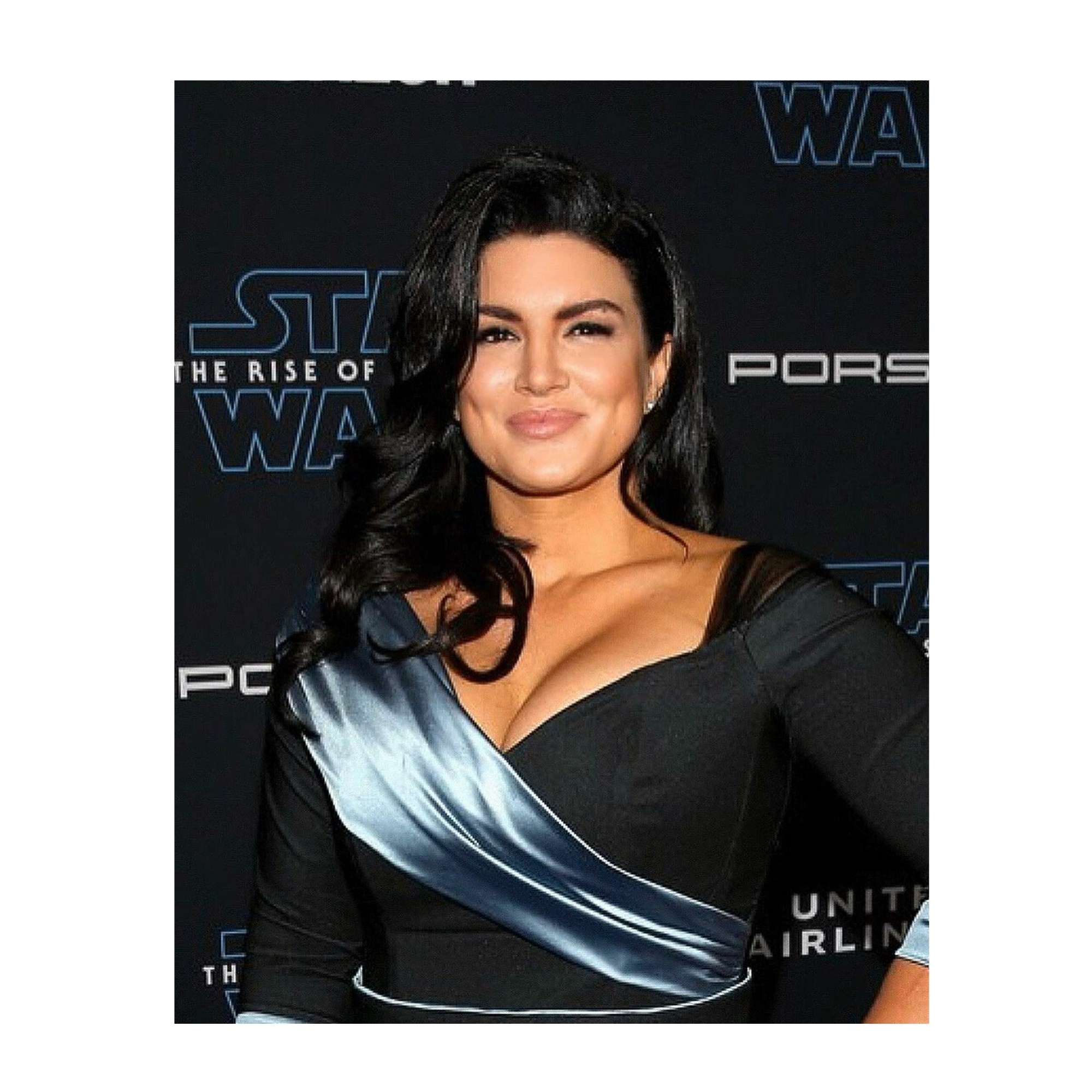 Beach Beige on Gina Carano of Star Wars Mandalorian