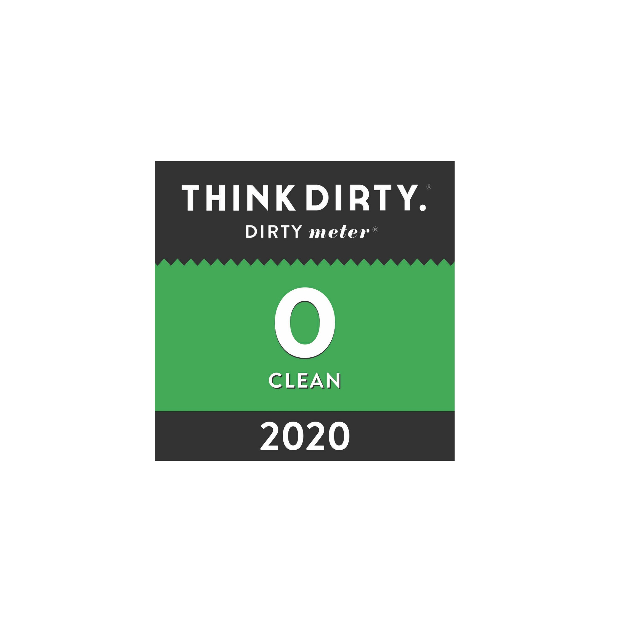 Rated Clean in the Think Dirty app
