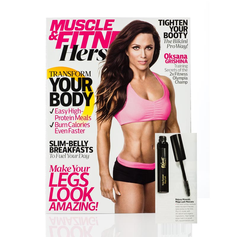 Featured in Muscle & Fitness Hers