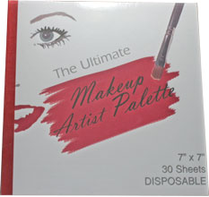 Makeup Artist Disposable Palette Pad / Disposables / Tools